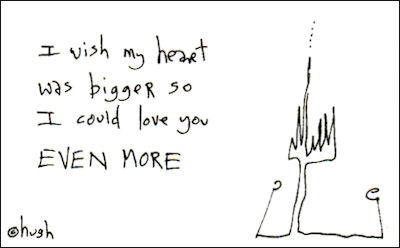i wish my heart was bigger