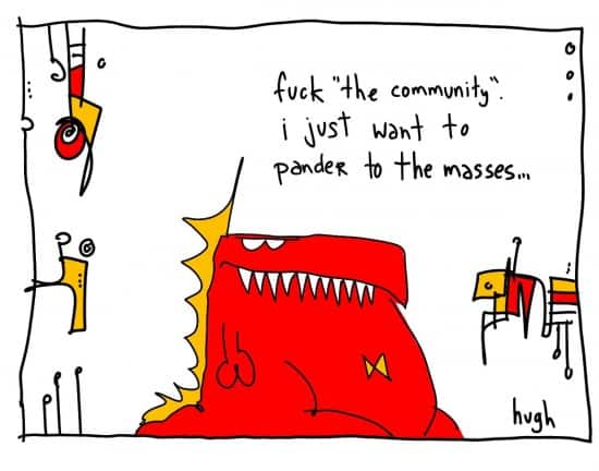 gapingvoid's new business model