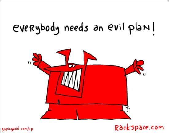 evil plans- rackspace edition