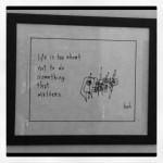 my @gapingvoid print now takes pride of place above the desk in my office ..