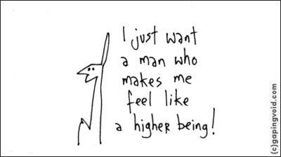 i just want a man
