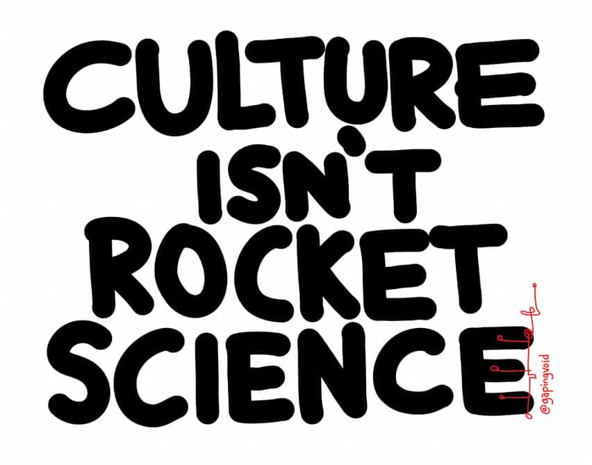 culture isn't rocket science