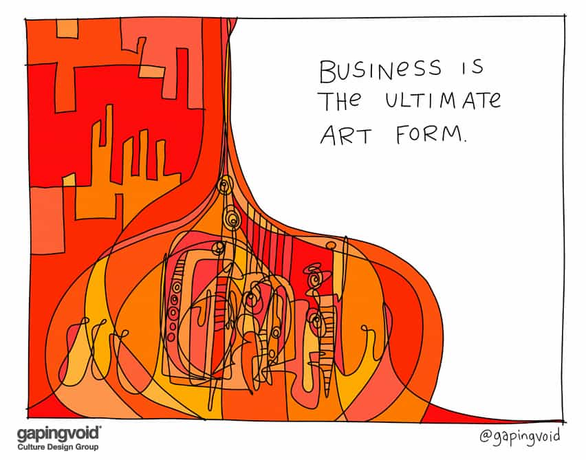 Business is the ultimate art form
